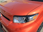 Headlight eyelids for the 2008-2016 Scion XB.