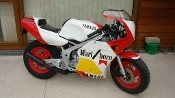 Yamaha YSR50 Marlboro graphics, factory sticker kit.