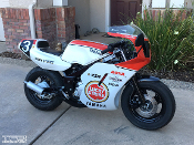 Yamaha YSR50 Lucky Strike graphics, special edition sticker kit.