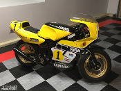 Yamaha YSR50 Kenny Roberts style graphics, special edition sticker kit.