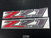 z71 decals for the GMC Canyon or Chevrolet Colorado